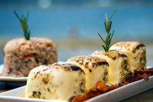 tarta de queso, plato, postre