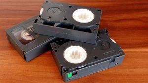 cassettes VHS, cassettes, industrie du cinéma