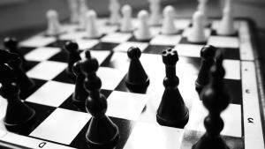 skakspil, Bonde, dronning, strategisk bord, udfordring
