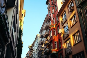 street, town, urban, architecture, buildings