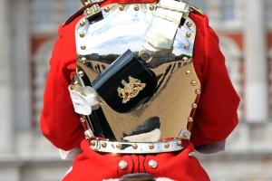 блискучі обмундирування, відбиття, royal, солдат