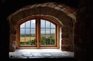 építészet, tégla, ház, ablak