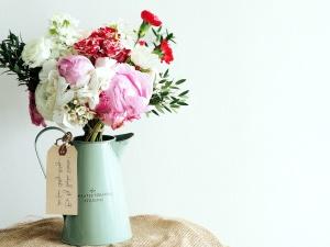 bouquet, roses, la Saint-Valentin, cadeau