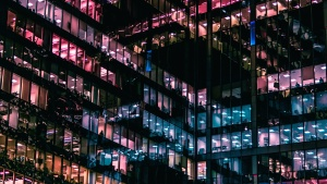 urban, windows, city, cityscape, architecture, building, business