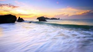 beach, surf, travel, water, waves