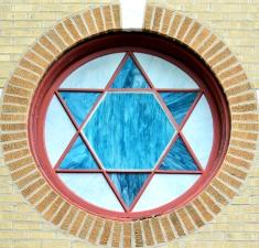 star, glass, window, art, wall
