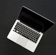 počítača, čierna obrazovka prenosného počítača