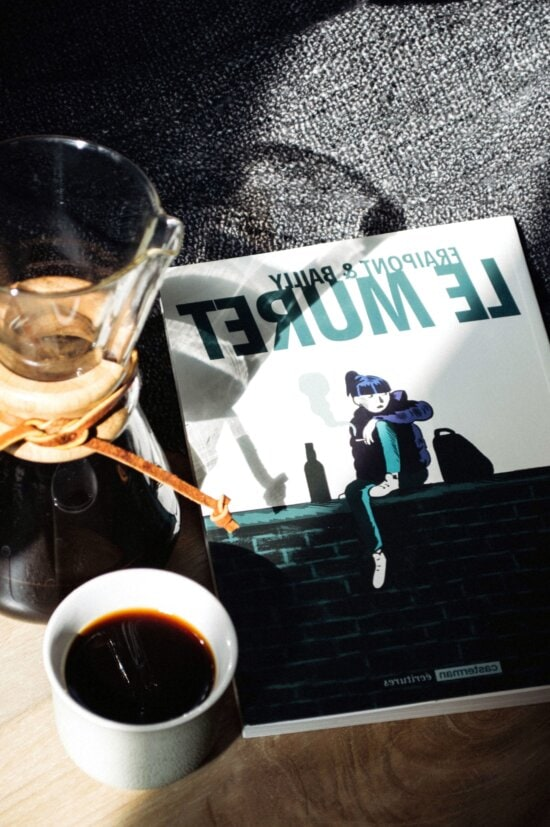 coffee, coffee cup, table, book