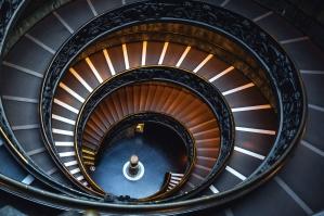 architectural design, architecture, ceiling, circular