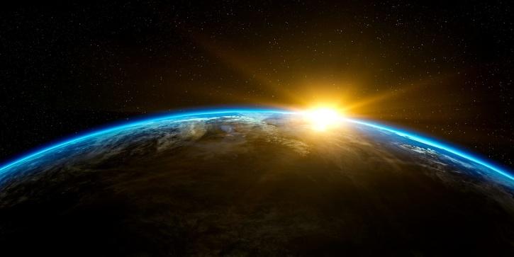 Planet Erde, Universum, Galaxie