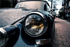 car, headlights