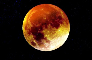 Moon, universe