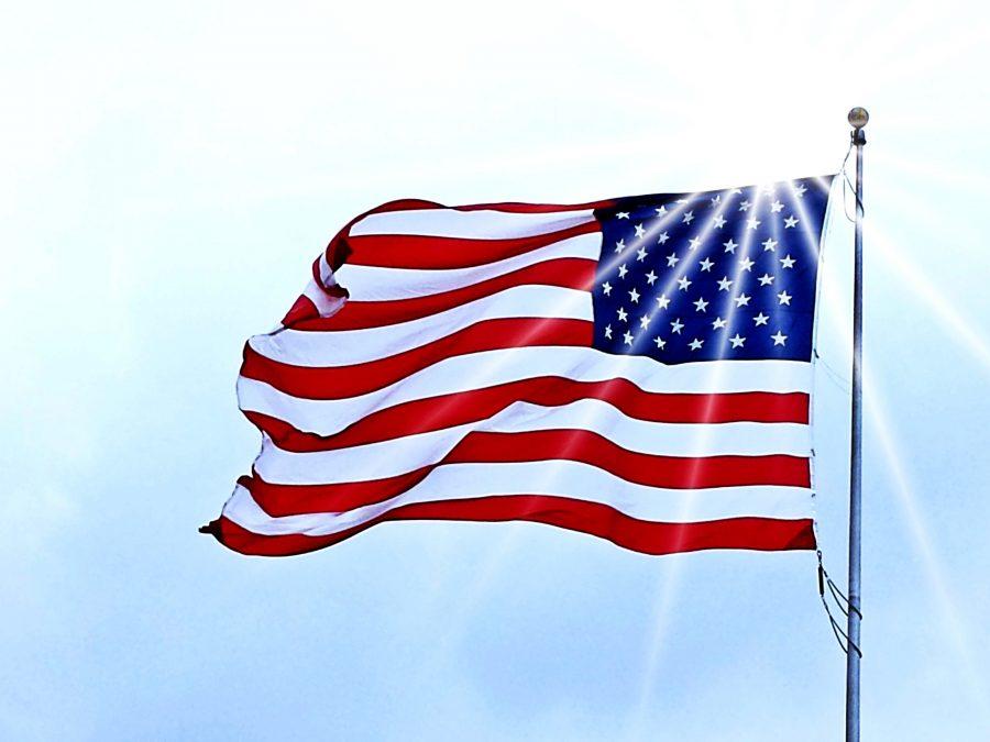 bandera de EE.UU., estados unidos