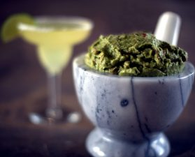 crucible, ground, guacamole