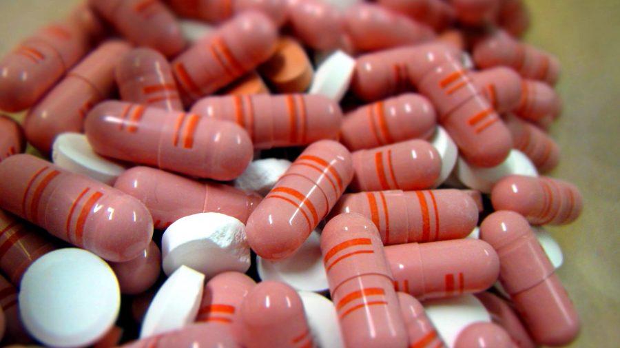 rózsaszín, gyógyszer tabletta