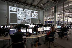 centro spaziale, la tecnologia