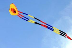 kite, blue sky
