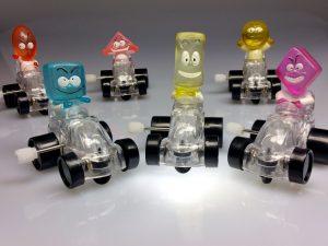 jouets de voiture en plastique, bande dessinée
