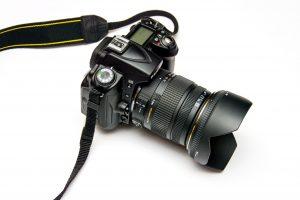 moderna cámara, foto
