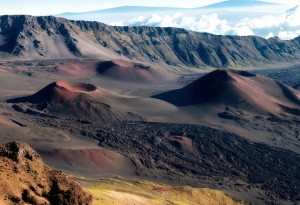 canyon, volcano,crater, hawaii