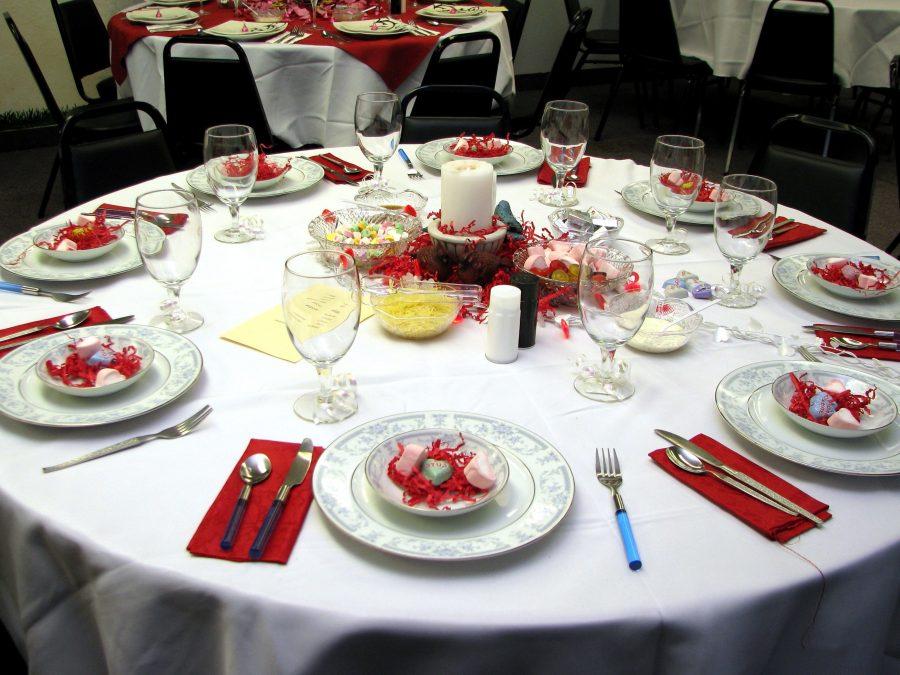 dinner table, celebration