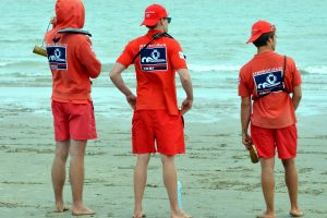 life guards, beach, rescue team