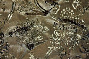 Kineski tkanina, tekstura