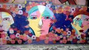 graffiti, murals, wall