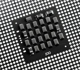 mikro procesorom, čip