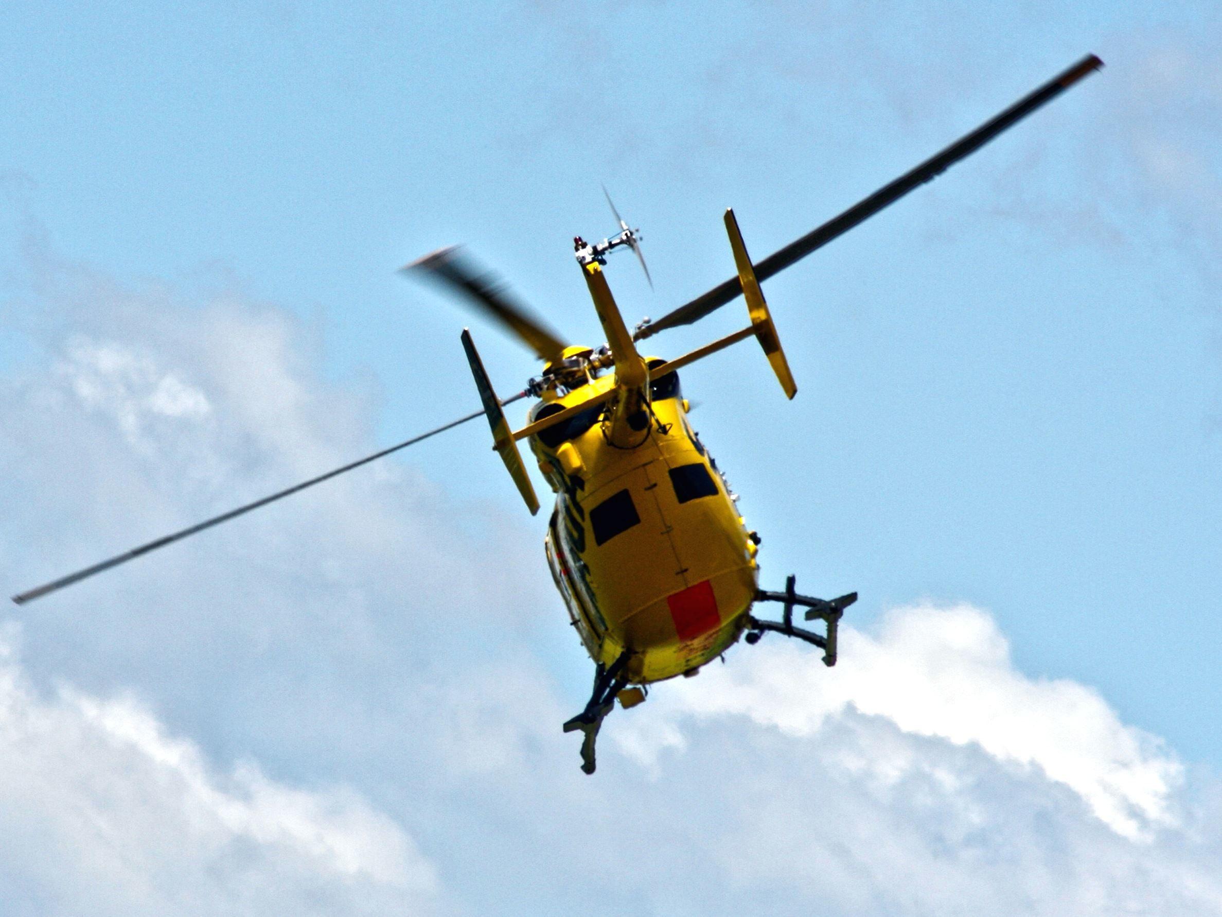 Elicottero 450 : Foto gratis: elicottero elica rotore giallo