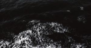 Wasser, Wellen, Wetter, kalt, dunkel