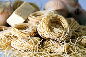 πηνία τρόφιμα, ζυμαρικά noodles