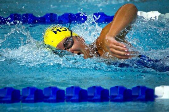 sport swimmer, racing pool