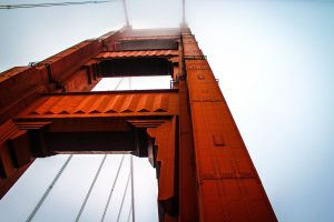 golden gate bridge, engineering, steel