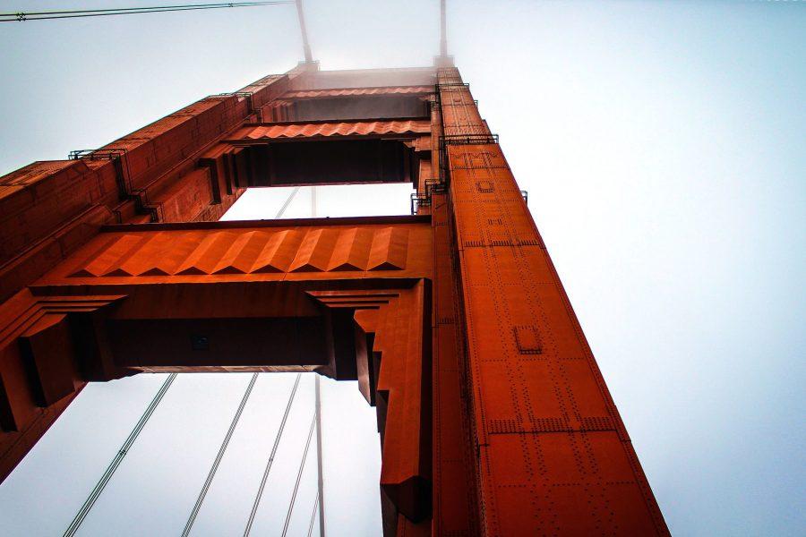 Golden Gate Bridge, Engineering, Stahl