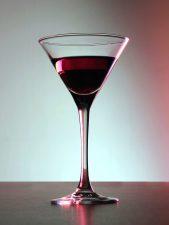 Crveni koktel, pića, proslava, koktel čašu