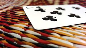 di plastica, carte, gioco, colorato