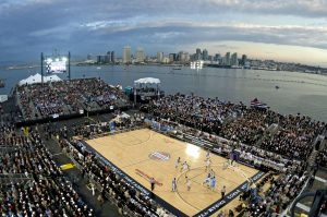 outdoors, basketball, stadium