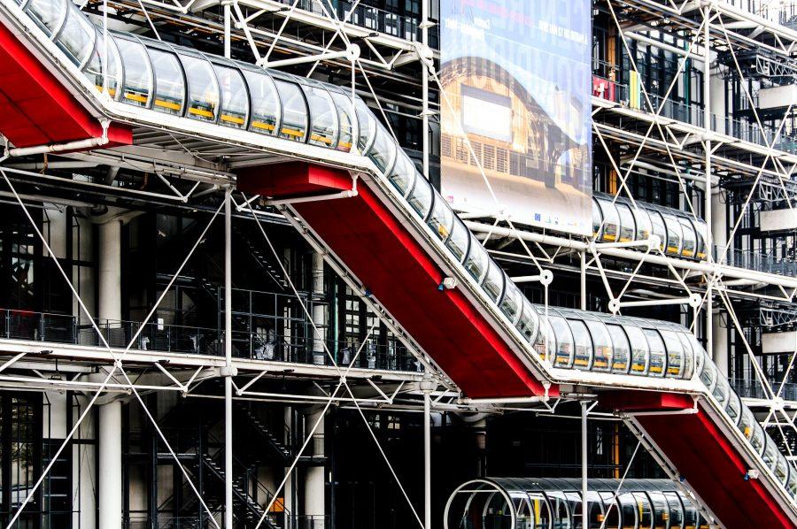 Kostenlose bild moderne konstruktion rohr projekt for Moderne architektur gebaude