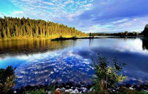 sky, lake, landscape, Auckland, New Zealand