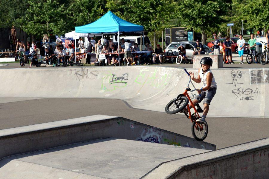 Stunt bike, sport, kid