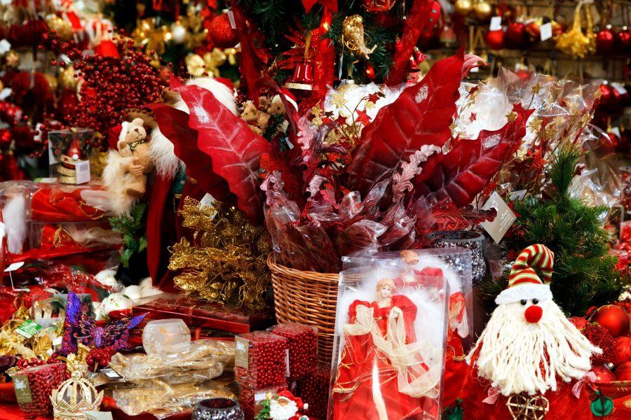 Noël, jouets, décorations, magasin