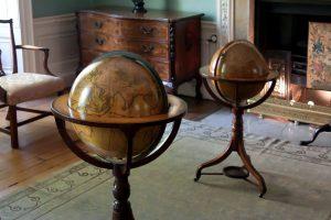 earth globe, room, interior, decoration