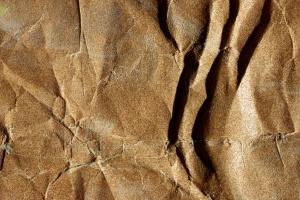 papel arrugado, viejo, papel de lija, la textura