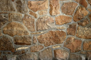 brown rock, wall, texture