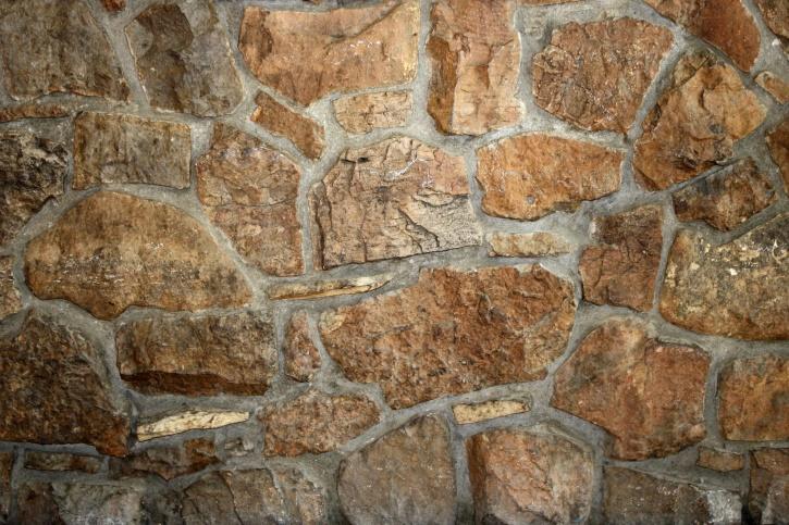 кафяв рок, стена, текстура