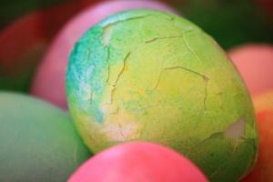uova incrinate, uovo di Pasqua