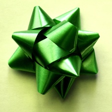 grün, bogen, gelb, Papier