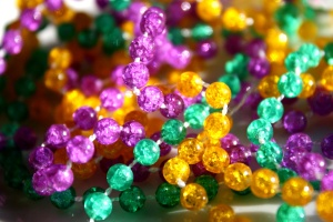 colorful jewelry, mardi glass, beads