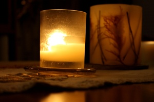 candles, shadow, decoration